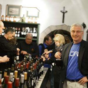 Portfolio kóstoló / Portfolio Tasting in the Tasting Room of the Winery